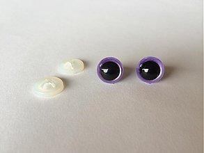Komponenty - 10 mm fialové bezpečnostné oči - 4098967_