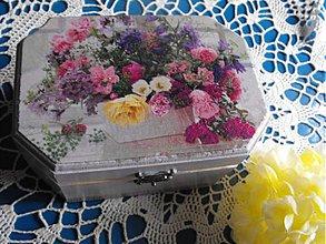 Krabičky - romantická krabička - 4101324_