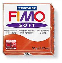 Modelovacie hmoty - Fimo soft červená (24) - 4103068_