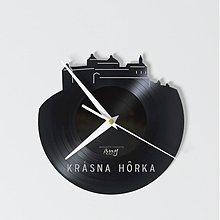 Hodiny - Krásna Hôrka Castle - vinylové hodiny - 4102211_