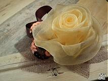 Odznaky/Brošne - Vanilka s čokoládou - 4100221_