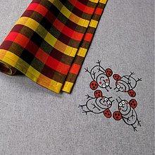 Úžitkový textil - BERUŠKOVÝ - napron 70x70 cm - 4101807_