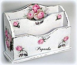 Krabičky - Schabby roses zakladač - 4103233_