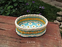 Košíky - Individuálny kurz pletenia košíkov a dekorácií z pedigu pre začiatočníkov - 4102753_