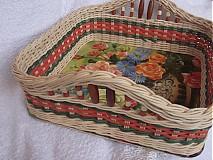 Košíky - Skupinový kurz pletenia košíkov a dekorácií z pedigu pre začiatočníkov - 4102796_