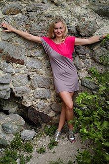 Tuniky - Fresh šaty...rôzne farebné kombinácie - 4100443_
