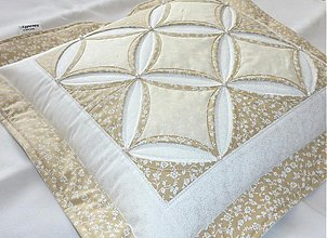 Úžitkový textil - Návliečka - Katedrálové okná svadobné. - 4101033_