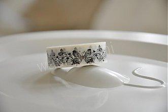 Papier - washi paska motyl v ornamente - 4106843_