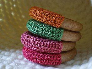Úžitkový textil - kružky na obrúsky - 4105444_