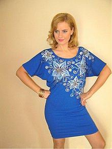Šaty - Modré... - 4105333_