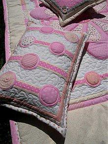Úžitkový textil - Originál s kvetom No.3 - vankúše - 4109490_