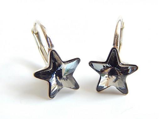 b6573ab51 Strieborne nausnice so Swarovskeho kristalom / kamalinka - SAShE.sk ...