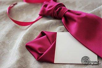 Doplnky - Francúzska pánska kravata k spoločenským šatám Dyona - 4111427_
