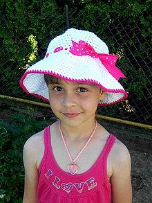 Detské čiapky - Klobúčik 1 :) - 4111151_