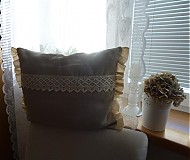 Úžitkový textil - Obliečka na vankúšik :-) - 4118800_