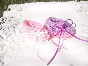 Topánočky - Ružovučké ♥ - 4118045_