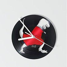 Hodiny - dino T-REX out - vinylové hodiny - 4117056_