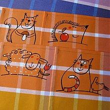 Úžitkový textil - Se ZVÍŘÁTKY - prostírání - 4119865_