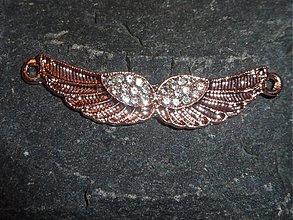 Komponenty - Dvojkrídlo medené - 4118570_