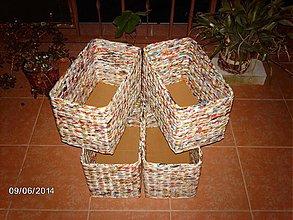 Košíky - Utešené štvorky.. - 4119578_