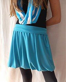 Tehotenské oblečenie - Lycrová do balonku (výběr ze 7 barev) - 4121946_