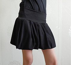 Tehotenské oblečenie - Lycrová balonková (výběr ze 7 barev) - 4121995_