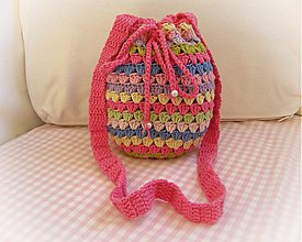 Detské tašky - Batôžtek pre malé slečny - 4120188_