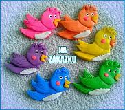 Náhrdelníky - Vtáčatka NA ZÁKAZKU - 4120282_