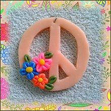 Náhrdelníky - Peace - prívesok NA ZÁKAZKU - 4121852_