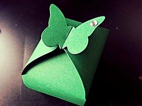 Papiernictvo - Krabička pre svadobných hostí - 4124455_