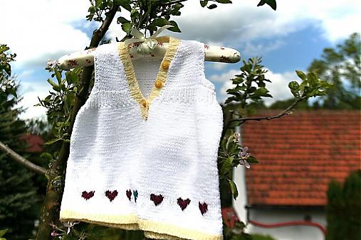 600f5623cff Dívčí pletené šaty- šatičky   pletena-tvorba - SAShE.sk - Handmade ...
