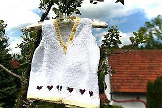 Detské oblečenie - Dívčí pletené šaty- šatičky - 4125979_