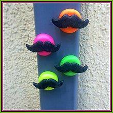 Magnetky - Moustache magetky NA ZÁKAZKU - 4125086_