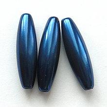 Korálky - GLANCE plast 10x30mm-1ks - 4132798_