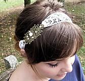 Ozdoby do vlasov - Vintage lososovoružová - 4139469_