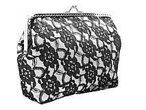 Čipková kabelka  , dámská taštička 06001A