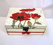 Krabičky - Vlčie maky. - 4142614_