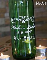 Darčeky pre svadobčanov - Etikety na svadobné fľaše 1 - 4140139_