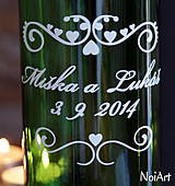 Darčeky pre svadobčanov - Etikety na svadobné fľaše 1 - 4140140_