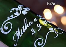 Darčeky pre svadobčanov - Etikety na svadobné fľaše 1 - 4140141_