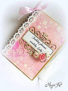 Papiernictvo - Svadobný plánovač nevestičky Lucky II. - 4142730_