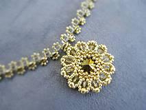 Golden rounds...náhrdelník