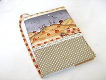 Na chaloupce v horách-obal na knihu, diář,zápisník
