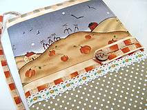 Papiernictvo - Na chaloupce v horách-obal na knihu, diář,zápisník - 4145606_