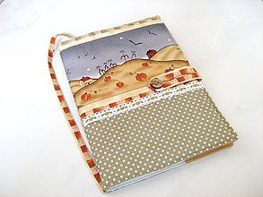 Papiernictvo - Na chaloupce v horách-obal na knihu, diář,zápisník - 4145605_