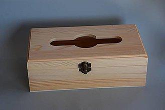 Polotovary - Krabica na papierové vreckovky - 4149820_