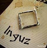 Náhrdelníky - Runa - Inguz - 4149715_