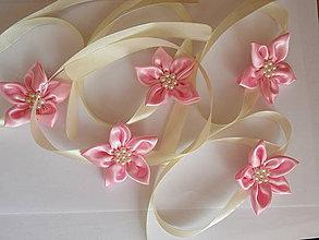 Náramky - Ružové náramky - 4149630_