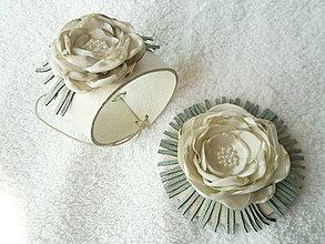 Sady šperkov - Kožený set, ľadovkový - 4147319_