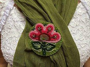 Odznaky/Brošne - Brooch Spring Flower - 4153443_